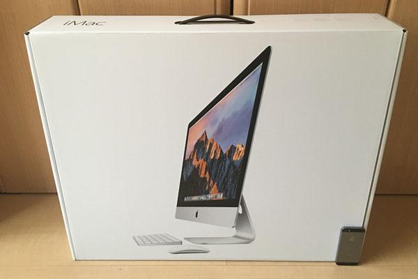 iMacの化粧箱